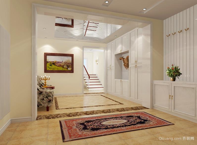 别墅型欧式风格走廊吊顶装修效果图鉴赏