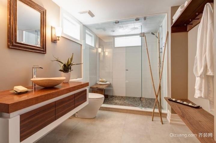 6平米朴素卫生间装修设计效果图