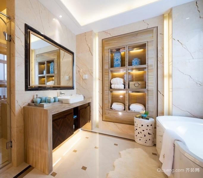 宜家三居室卫生间壁柜装修设计效果图