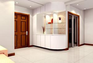2016宜家现代化三居室玄关设计效果图