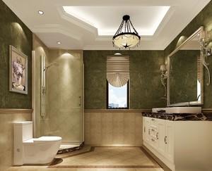 2016三室一厅宜家卫生间装修设计效果图