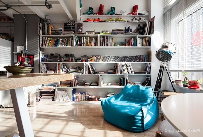 2016公寓北欧风小书房设计装修效果图