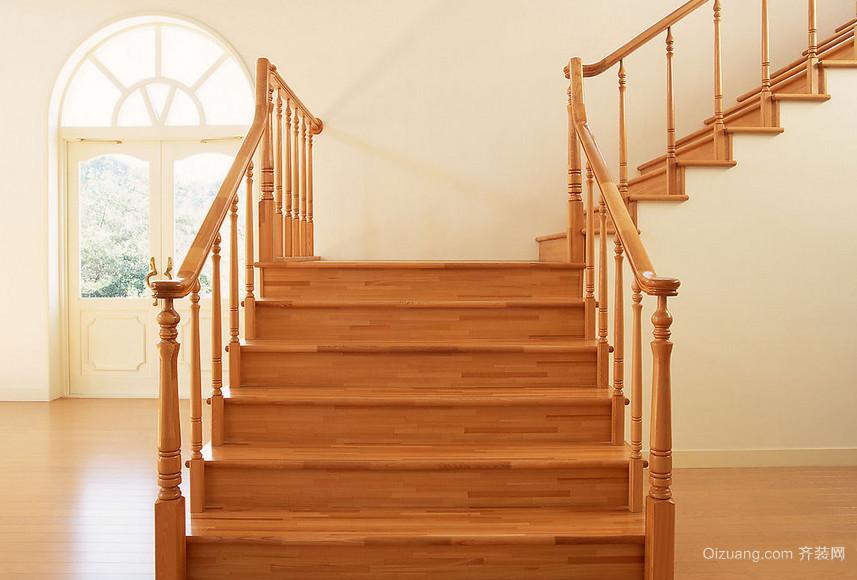 2016大户型欧式室内楼梯设计装修效果图鉴赏