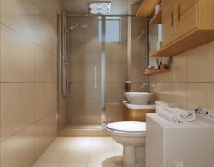 2016别墅型现代简约装修样板间卫生间效果图
