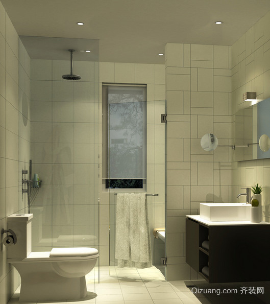 6平米欧式小户型卫生间装修效果图实例