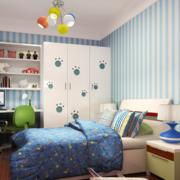 动感的现代精致大户型儿童房装修效果图实例