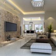 大户型欧式电视机背景墙装修效果图鉴赏