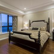 典雅美式风格大卧室装修设计效果图
