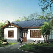 现代经典的农村一层房屋设计效果图鉴赏