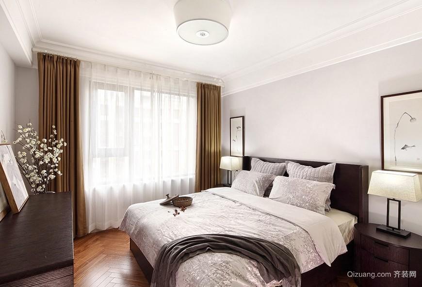 2016简约美式风格小卧室装修设计效果图