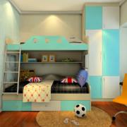 现代大户型儿童房间装修效果图实例