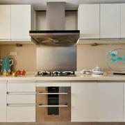 现代小户型开放式厨房装修设计效果图