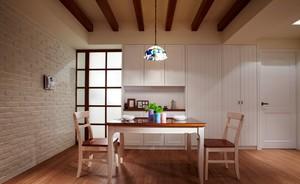 朴素宜家的小户型餐厅设计装修效果图