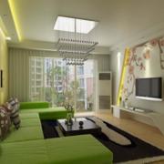 欧式40平米小户型室内装修效果图鉴赏