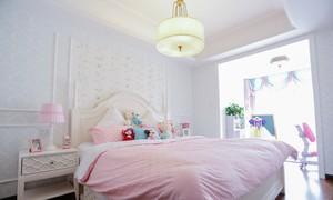 白雪公主简欧卧室装修设计效果图