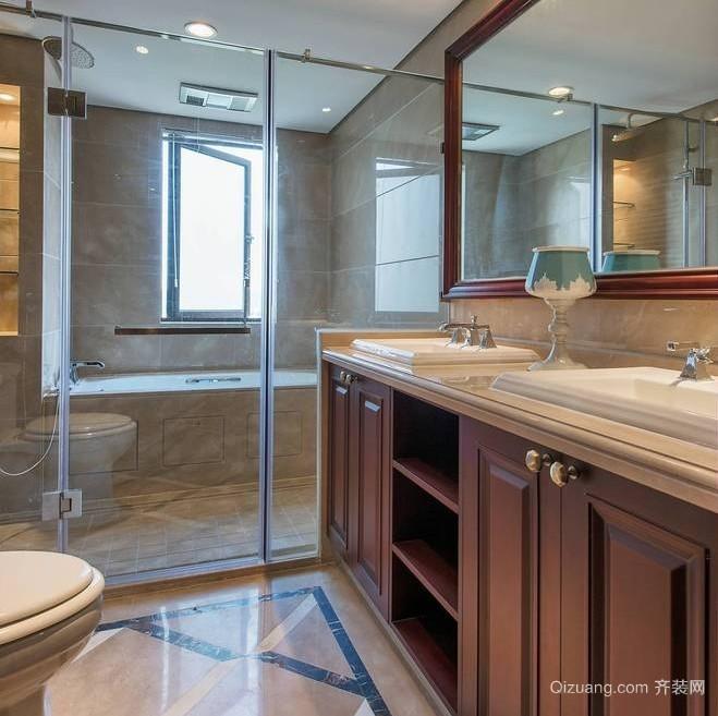 102平米三居室宜家卫生间装修效果图
