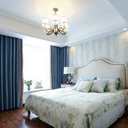 欧式田园风大户型卧室装修设计效果图