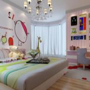 90平米大户型欧式风格儿童卧室装修效果图