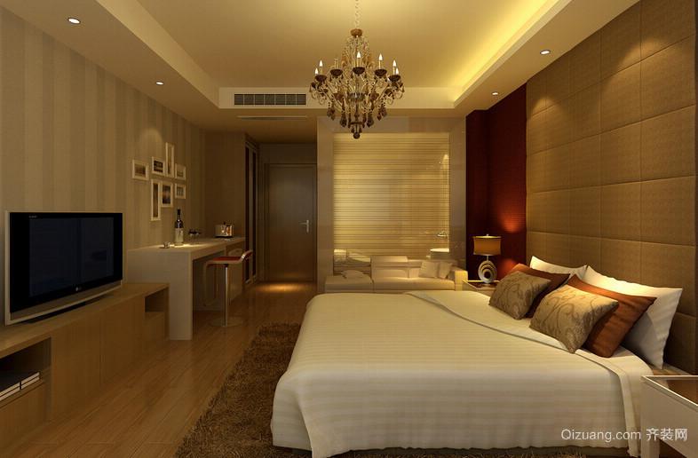 2016欧式风格单身公寓室内装修效果图
