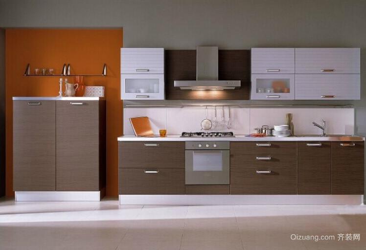 小户型精美的欧式风格橱柜装修效果图