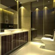 精美的欧式风格洗手间室内装修效果图