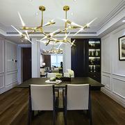 三居室后现代风格餐厅装修设计效果图