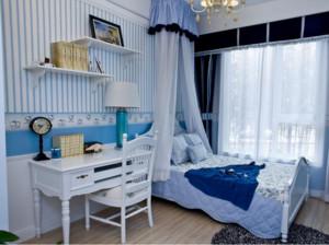 90平米大户型地中海风格儿童房设计效果图