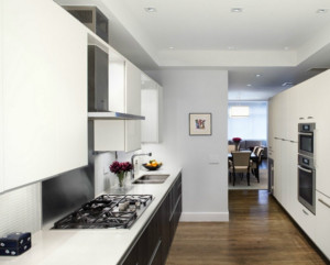 简欧风格大户型室内厨房装修效果图鉴赏