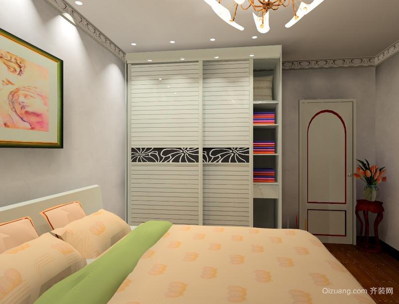 90平米大户型欧式室内衣柜装修效果图