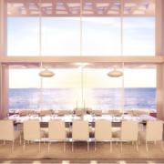 高贵的别墅型现代餐厅装修效果图实例