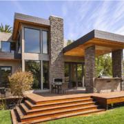 美式风格别墅外观设计效果图实例