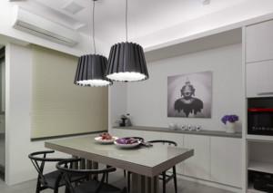 70平米现代小户型餐厅装修效果图实例