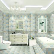 欧式风格大户型浴室装修效果图鉴赏