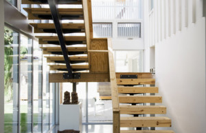 欧式风格大户型室内楼梯装修效果图