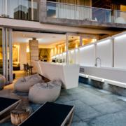 80平米北欧风格清新室内吧台装修效果图