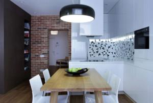 小户型北欧风格装修餐厅装修效果图鉴赏