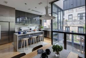 120平米大户型现代简约厨房装修效果图