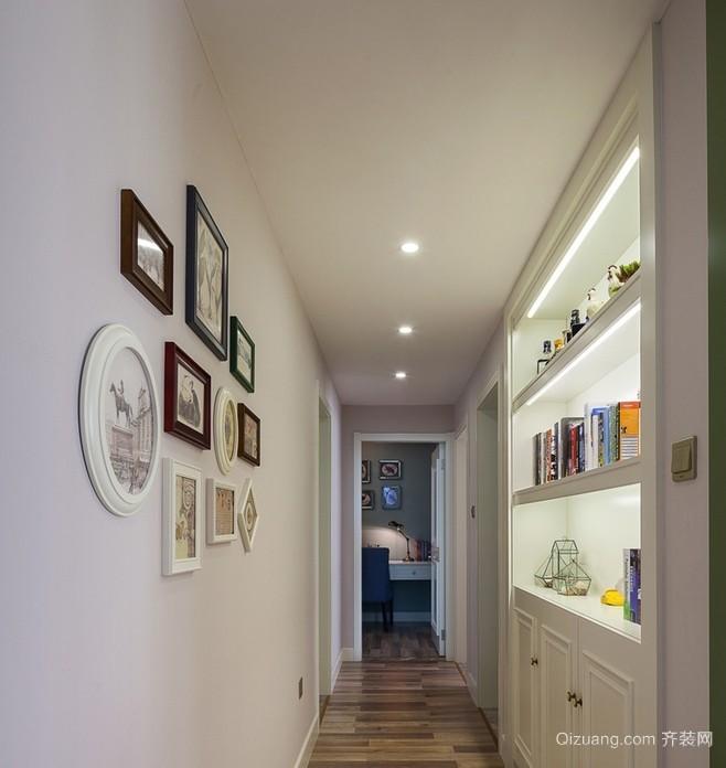 小户型家居个性走廊文化设计装修效果图