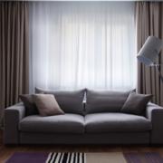 大户型都市简欧风格窗帘装修效果图