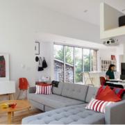 北欧风格客厅沙发背景墙装修效果图鉴赏