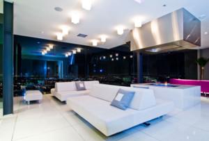 120平米都市现代奢华的客厅装修效果图