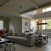 2016简约小复式楼客厅装修设计图片