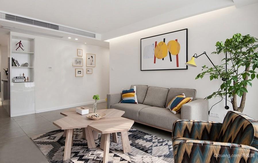 精致简约型小客厅装修设计图片