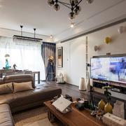 朴素宜家的小户型客厅装修设计图片