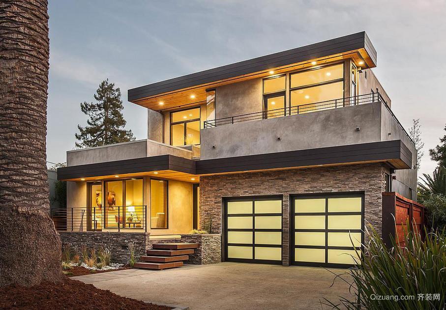 2016精致的欧式风格别墅设计效果图