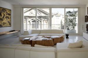 浓情白色北欧风格别墅室内飘窗装修效果图