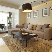 温馨舒适的小户型客厅装修设计图片