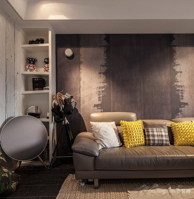 2016小户型公寓精致的沙发背景墙效果图