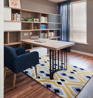 清新舒适的小户型书房设计装修效果图