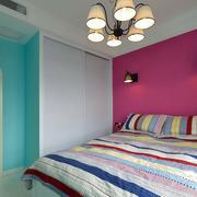 和谐雅致的18平米小卧室装修效果图